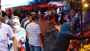 Bursa'da çarşı pazarlar tıklım tıklım doldu - Bursa haberleri