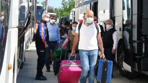 Bursa'da karantinası biten 437 vatandaş yurttan ayrıldı - Bursa Haberleri