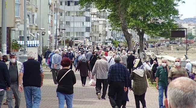 Bursa'da sahiller yaşlılarla doldu taştı - Bursa Haberleri
