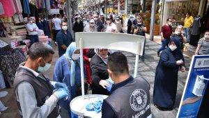 Bursa'da tarihi çarşıda tedbirler arttırıldı - Bursa Haberleri