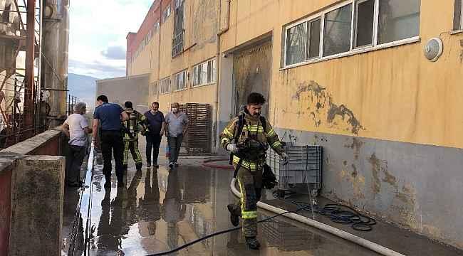 Bursa'da unlu mamulleri fabrikasında yangın - Bursa haberleri