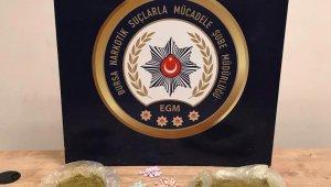 Bursa'da uyuşturucu satıcısı kadından 800 gram toz esrar çıktı - Bursa Haberleri