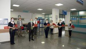 BUÜ Hastanesi hemşirelerine özel kutlama - Bursa Haberleri