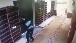 Cami hırsızını elindeki dövme ele verdi