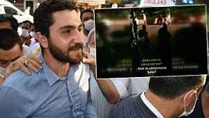 CHP Gençlik Kolları Başkanı Yıldırım'ın polise saldırdığı görüntüler ortaya çıktı