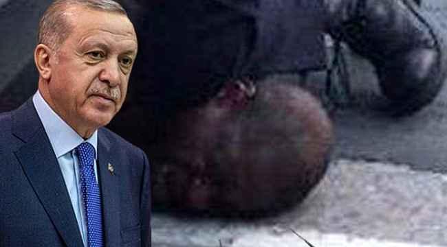 Cumhurbaşkanı Erdoğan, ABD polisinin boğarak öldürdüğü George Floyd hakkında paylaşımda bulundu