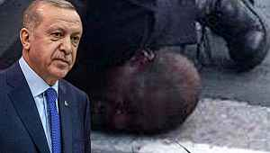 Cumhurbaşkanı Erdoğan, ABD polisinİN boğarak öldürdüğü George Floyd hakkında paylaşımda bulundu