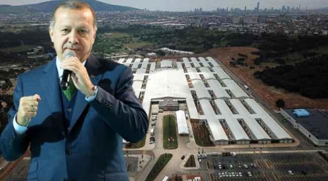 Cumhurbaşkanı Erdoğan'ın müjdesini verdiği 45 günde tamamlanan Prof. Dr. Feriha Öz Acil Durum Hastanesi açıldı