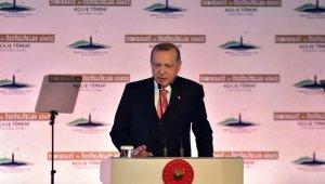 """Cumhurbaşkanı Erdoğan: """"Yassıada'da kurulan tiyatro mahkemelerde yargılanan rahmetli Menderes ve arkadaşları değil, tarihi, kültürü, değerleri, ve inançlarıyla milletimizdi"""""""