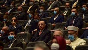 Cumhurbaşkanı Recep Tayyip Erdoğan ile MHP Genel Başkanı Devlet Bahçeli Demokrasi ve Özgürlükler Adası'nda