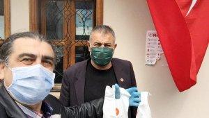 Cumhurbaşkanlığı dezenfektan paketleri Mudanya'da dağıtılıyor - Bursa Haberleri