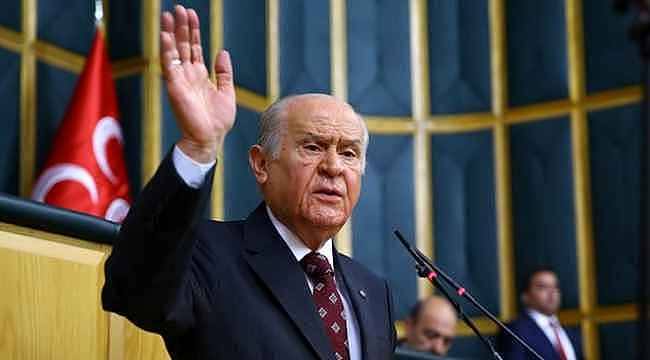 Devlet Bahçeli, Siyasi Partiler Kanunu ve Seçim Kanunu'nun değişmesini istedi