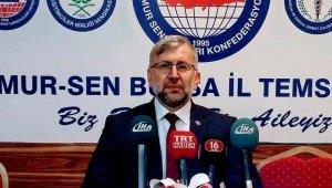 Diyanet-Sen Bursa 1 ve 2 No'lu şubelerden meydan açıklaması - Bursa haberleri