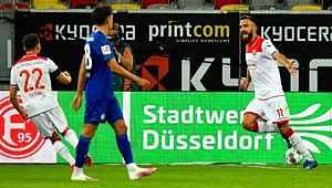 Düsseldorf, Kenan Karaman'ın golüyle Ozan Kabak'lı Schalke'yi 2-1 yendi