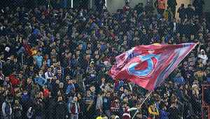 En fanatik taraftar Trabzonspor'un