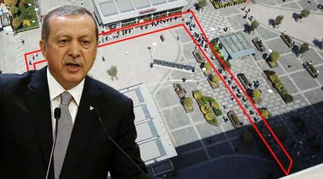Erdoğan, AVM'lerin önünde oluşan kuyruktan rahatsız: