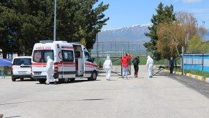 Erzurumspor tesislerinde 60 kişi karantina altında
