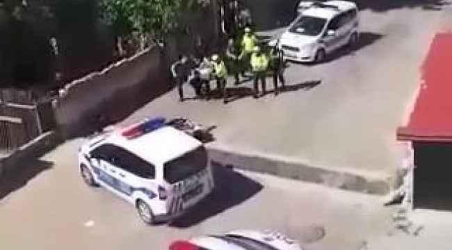 Evinin önünde oturan vatandaşı darp eden polisler hakkında soruşturma açıldı