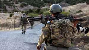 Gabar kırsalında 3 terörist öldürüldü