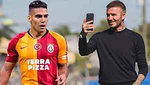 Galatasaray ve Falcao, Beckham'ın teklifini reddetti