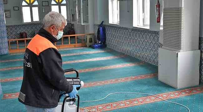 Gemlik'te camiler dezenfekte ediliyor - Bursa Haberleri