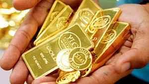 Güne düşüşle başlayan gram altın 384 liradan işlem görüyor