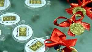 Haftaya düşüşle başlayan gram altın altının gram fiyatı 378,6 liradan işlem görüyor