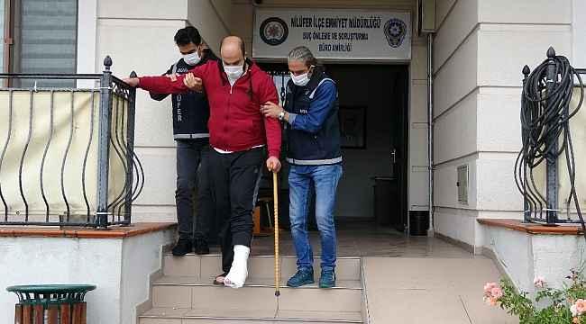 Husumetlisine ateş ederken yol kenarındaki genci yaralayan şüpheli adliyede - Bursa HAberleri