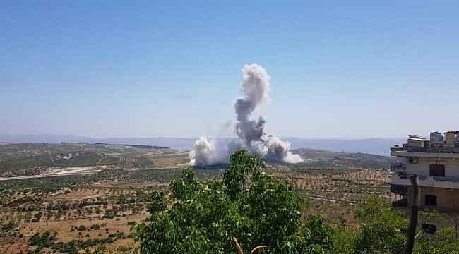 İdlib'de TSK konvoyunun geçişi sırasında patlama... Yaralılar var