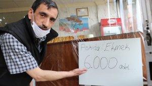 İyilik hareketi çığ gibi büyüdü... 15 günde askıda 8 bin ekmek birikti