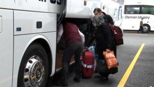 İzin belgesini alan 65 yaş üstü vatandaşlar İstanbul'dan ayrılmaya başladı
