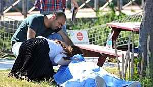 İzinden eşiyle yararlanan yaşlı adam, parkta rahatsızlanarak hayatını kaybetti! Kızı göz yaşlarına boğuldu