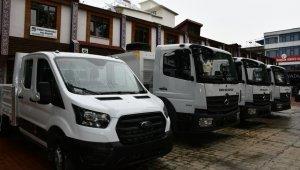 İznik Belediyesi araç filosunu genişletti - Bursa Haberleri