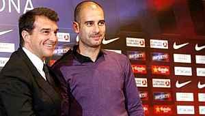 Joan Laporta Barcelona başkanı seçilirse, takımın başına Guardiola'yı getirecek