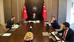 Kabine toplantısı başladı... Erdoğan'ın masasında iki önemli konu var