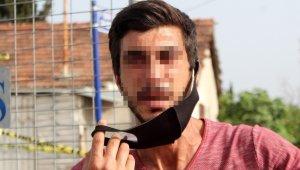 Karantina bölgesine girmeye çalışırken yakalandı, kesilen cezaya ağlayarak itiraz etti