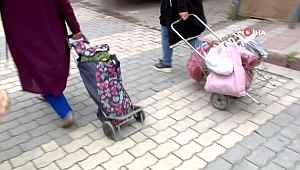 Karantinaya alınan mahallenin pazar alışverişine Bursa Büyükşehir Belediyesi el attı - Bursa Haberleri