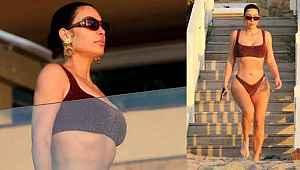 Kardashian'ın karantina tatili