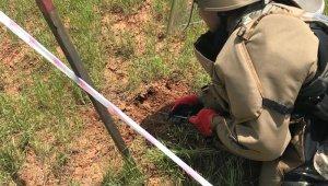 Kilis'te mayın aramasında 21 adet M-14 antipersonel mayını tespit edildi