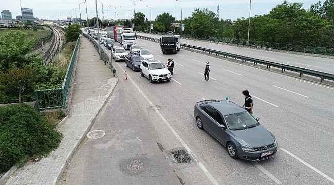 Kısıtlamanın son günü Bursa polisi kuş uçurtmadı - Bursa Haberleri