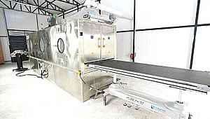 Konya Büyükşehir Belediyesi'nden garip 'tam otomatik' cenaze yıkama makinesi