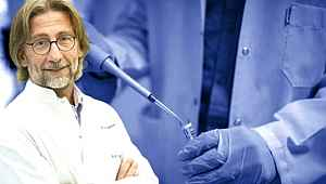 Koronavirüs karşı çalışmalar yapan Ercüment Ovalı'dan heyecanlandıran aşı paylaşımı