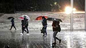 Meteoroloji'den 5 il sağanak yağmur uyarısı