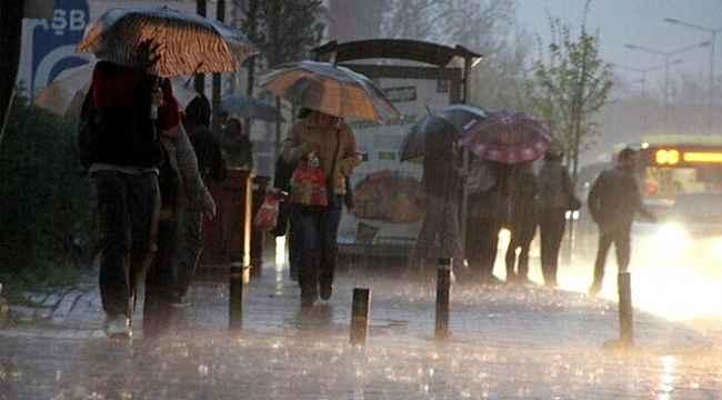 Meteroloji'den 3 il için kuvvetli yağış uyarısı!
