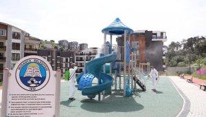 Mudanya'da parklar çocuklar için hazırlanıyor - Bursa Haberleri