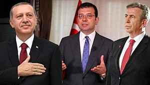 Muhalefete yakın anket şirketi, İmamoğlu'nu uçurdu... Erdoğan'ın 5 puan önüne çıkardı