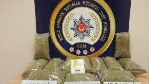 Narkotik köpeği 11 kilo uyuşturucuyu böyle buldu - Bursa Haberleri