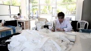 Nilüfer'de işitme engelli ve çocuklara özel maske üretiliyor - Bursa Haberleri