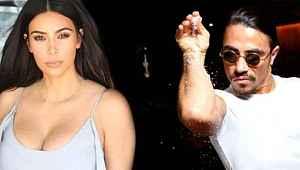 Nusret'ten lahmacuna Ermeni pizzası diyen Kim Kardashian'a videolu gönderme