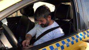 """Polise maskesiz yakalanan taksici: """"Yedik mi cezayı"""""""
